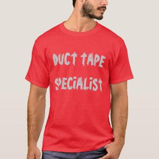 """Da """"t-shirt do especialista fita adesiva"""" camiseta"""