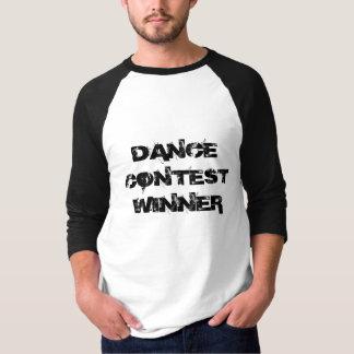 """Da """"t-shirt do vencedor da competição dança"""" camiseta"""