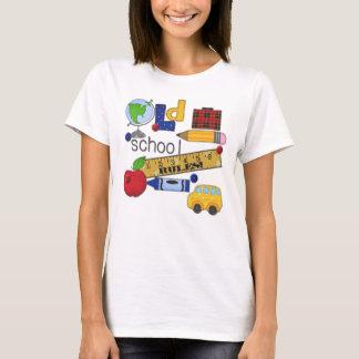 """Da """"t-shirt personalizado das regras velha escola"""" camiseta"""