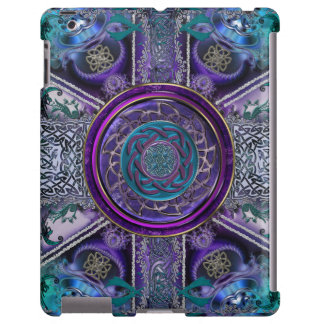 Da tapeçaria blindada do Fractal do metal iPad Capa Para iPad