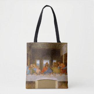 Da Vinci a última ceia Bolsas Tote