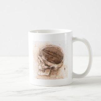 da-vinci_coffee_skull caneca