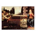 Da Vinci, Leonardo - o aviso Cartão De Nota