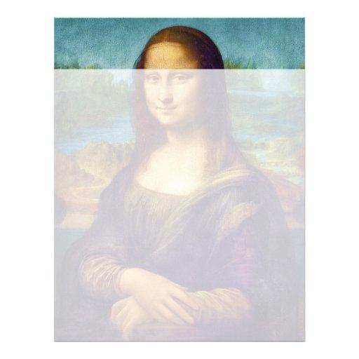 Da Vinci: Mona Lisa Modelo De Papel De Carta