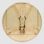 da Vinci Skydiving Adesivo