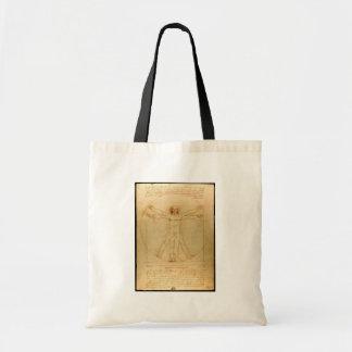 Da Vinci Vitruve Luc Viatour Bolsas De Lona