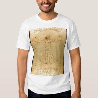 Da Vinci - Vitruvian Man T-shirts