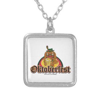 Dachshund de Oktoberfest Bijuterias Personalizadas