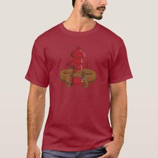Dachshund engraçado dos desenhos animados camiseta