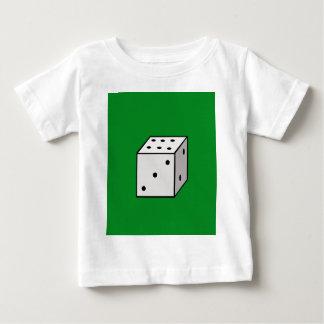 Dados Camiseta Para Bebê
