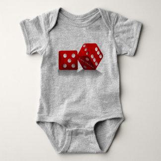 Dados de Las Vegas Body Para Bebê