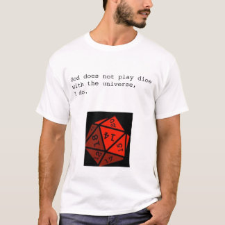 Dados de Playin Camiseta