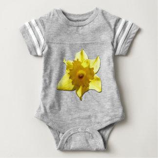 Daffodil 1.5.5.b da trombeta amarela body para bebê