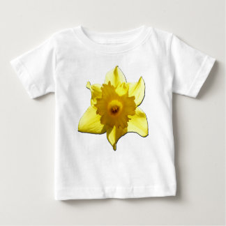 Daffodil 1.5.5.b da trombeta amarela camiseta para bebê