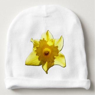 Daffodil 1.5.5.b da trombeta amarela gorro para bebê