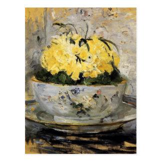 Daffodils por Berthe Morisot Cartão Postal