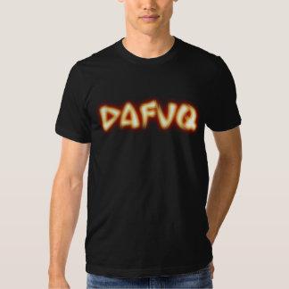 Dafuq Kung-Fu quente Tshirt