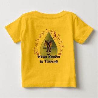 Dakota molha depositários camiseta para bebê