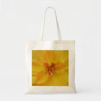 Dália amarela bolsa