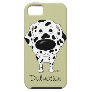 Dalmatian grande do nariz capa tough para iPhone 5