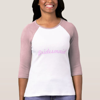 Dama de honra camiseta