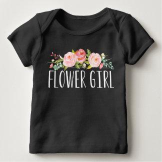 Dama de honra do T   do bebê do florista Camisetas