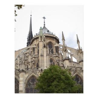 Dama Vôo Buttresses.jpg de Paris-Notre Papel De Carta Personalizados