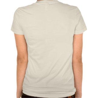 Damas alpargata com fractal motivo t-shirt