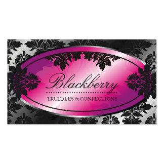 damasco da trufa de 311-Sweet Blackberry Cartão De Visita