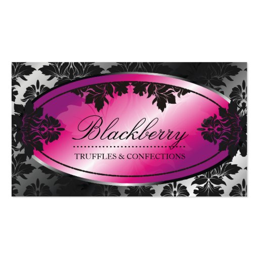 damasco da trufa de 311-Sweet Blackberry Modelo Cartão De Visita