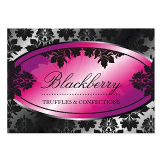 damasco da trufa de 311-Sweet Blackberry Cartão De Visita Grande