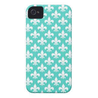 Damasco do Aqua Capas Para iPhone 4 Case-Mate