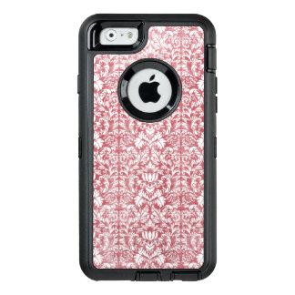 Damasco floral do rosa cor-de-rosa