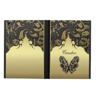 Damasco Jeweled da borboleta Capa Para iPad Air