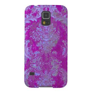 Damasco/roxo do natasha de PixDezines Capinhas Galaxy S5