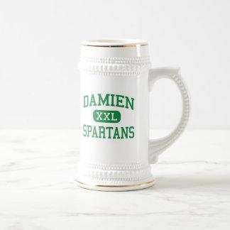 Damien - Spartans - altos - La Verne Califórnia Caneca De Chopp