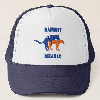 Dammit chapéu do camionista de Mearle Boné