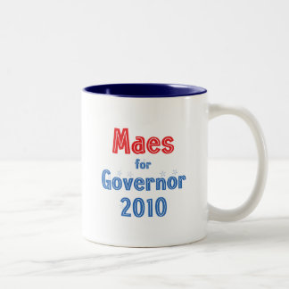 Dan Maes para o design da estrela do governador Caneca Dois Tons