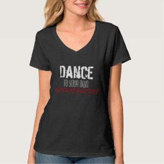 dança a sua própria pulsação do coração camisetas