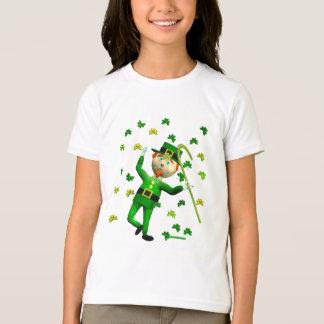 Dança afortunada do Leprechaun Camiseta
