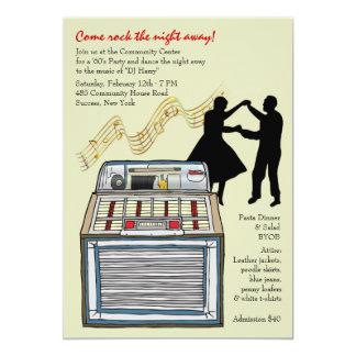 Dança ao convite de festas da música