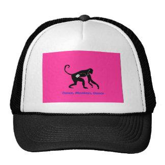 dança, chapéu dos macacos boné