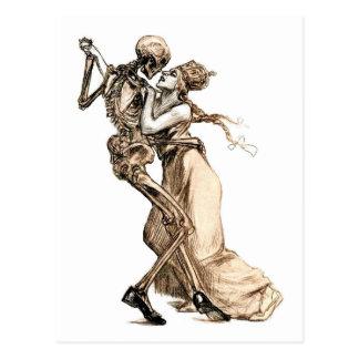 Dança com cartão da morte