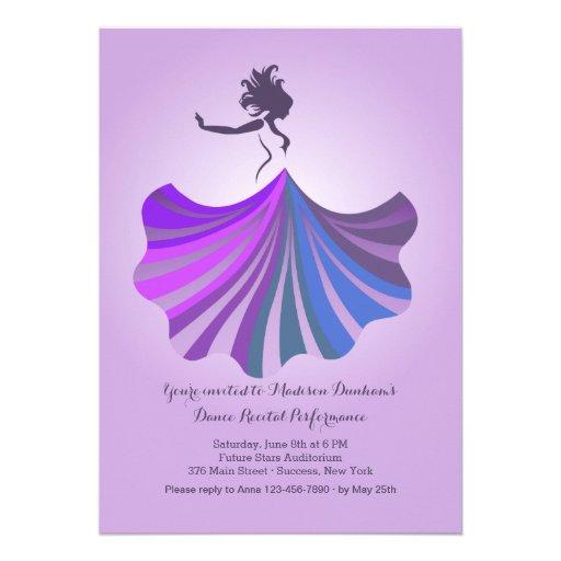 Dança com convite do dom