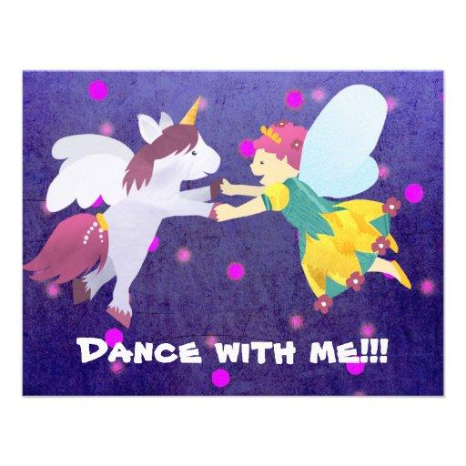 Dança comigo!!! Convite feericamente!