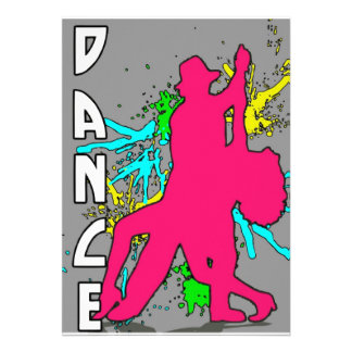 Dança Convite Personalizados