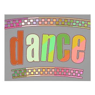 Dança Convite Personalizado