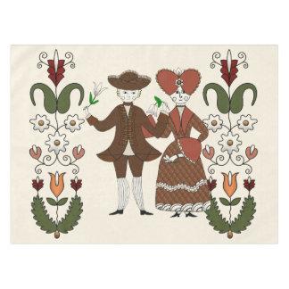 Dança da colheita toalha de mesa