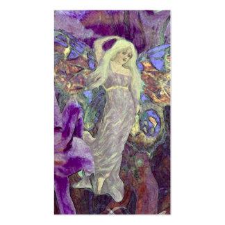 Dança da fada da borboleta cartão de visita