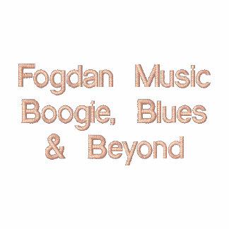 Dança da música de Fogdan azuis além Camisa Polo